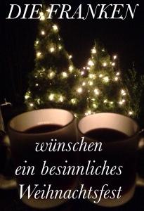 DieFrankenWünschenEinBesinnlichesWeihnachtsfest