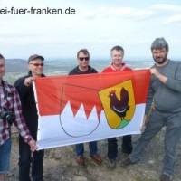 HIF Hissen Frankenfahne Staffelberg 9Apr2016